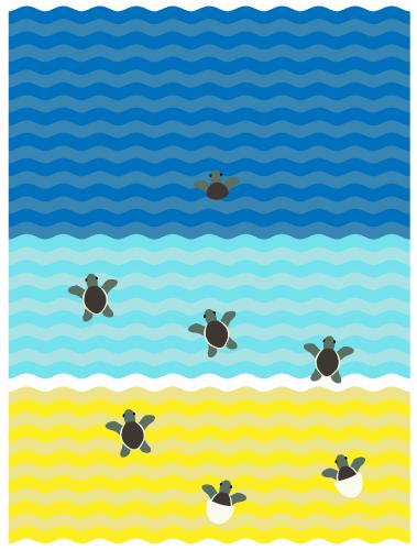Blog PlanetJune By June Gilbank Turtle Beach Instructions Inspiration Crochet Turtle Blanket Pattern