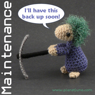 PlanetJune Maintenance Lemming :)