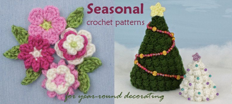 PlanetJune Seasonal crochet patterns