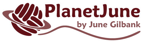 PlanetJune by June Gilbank - logo