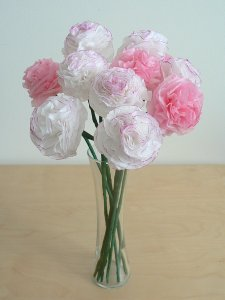 Tissue paper carnations donationware paper craft tutorial tissue paper carnations donationware paper craft tutorial mightylinksfo Gallery