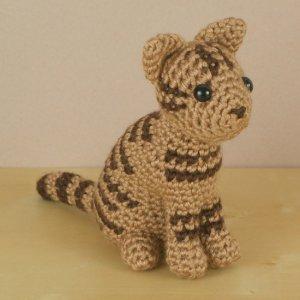 Amigurumi Tabby Cat : AmiCats Tabby Cat amigurumi crochet pattern : PlanetJune ...