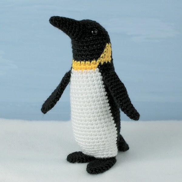 Haakpatroon Amigurumi Penguin : Emperor Penguin amigurumi crochet pattern : PlanetJune ...