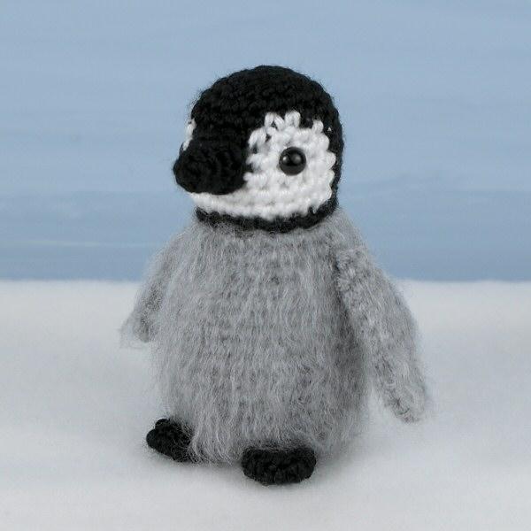 Amigurumi Penguin : Baby Emperor Penguin amigurumi crochet pattern ...