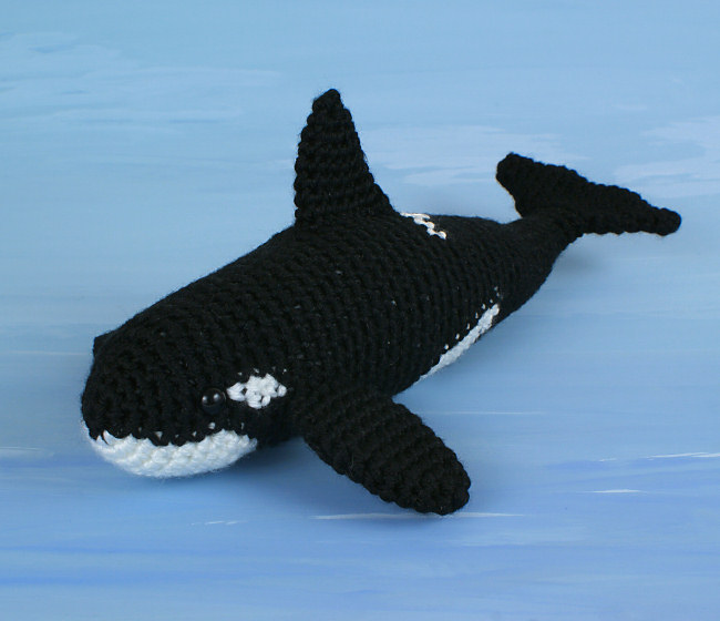 Yorkie Amigurumi Pattern Free : Orca - Killer Whale - amigurumi crochet pattern ...
