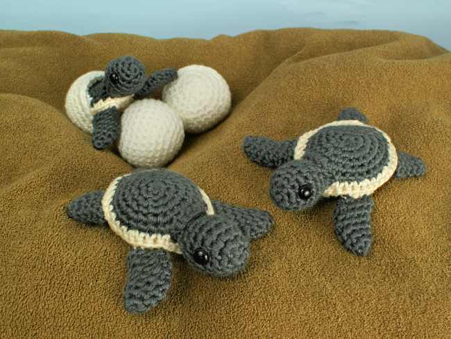 BABY TURTLE PDF Crochet Pattern (English only) - Amigurumi Crochet ... | 488x650