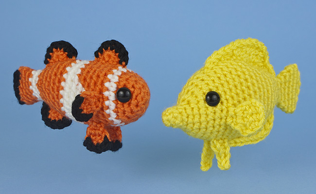 Tropical fish set 1 two amigurumi fish crochet patterns tropical fish set 1 two amigurumi fish crochet patterns planetjune shop cute and realistic crochet patterns more ccuart Choice Image