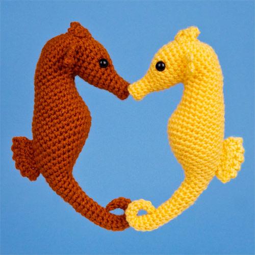 Underwater Amigurumi Free Crochet Patterns | 500x500