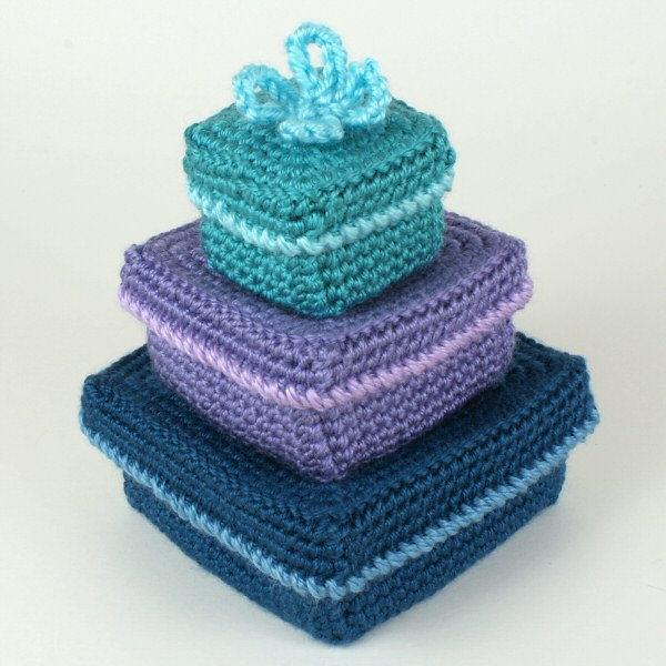 Gift Boxes crochet pattern : PlanetJune Shop, cute and ...