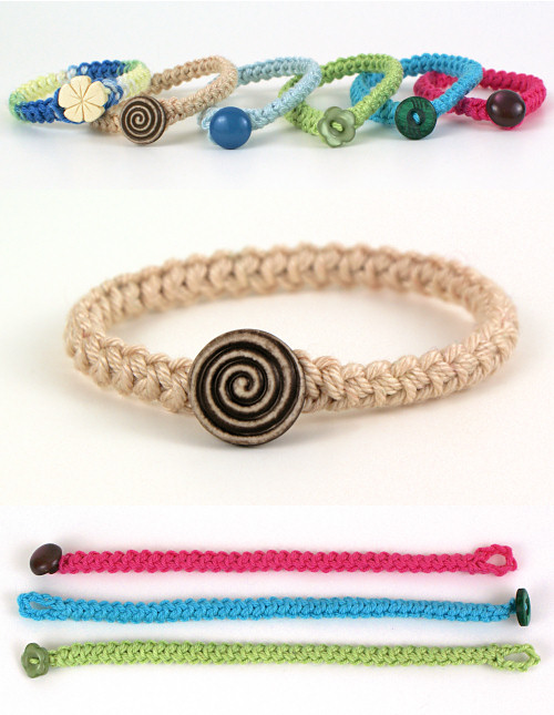 Crochet Braid Bracelet Donationware Crochet Pattern Planetjune
