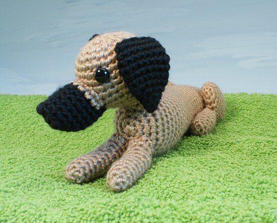 Amigurumi Dog Tail : AmiDogs Great Dane amigurumi crochet pattern : PlanetJune ...