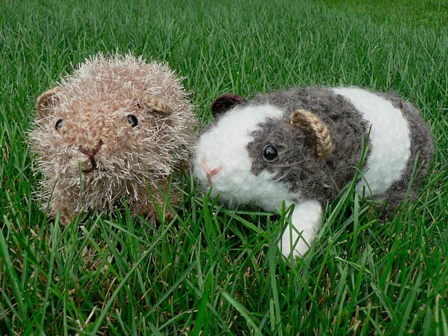 Fuzzy Guinea Pig amigurumi crochet pattern : PlanetJune ...