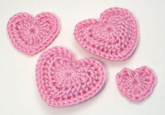 Love Hearts Donationware Crochet Pattern Planetjune Shop Cute And
