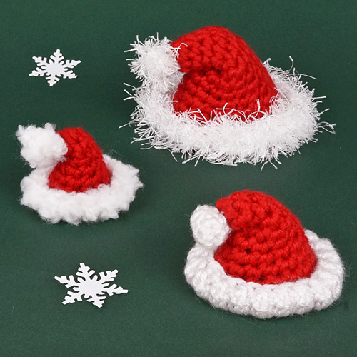 Amigurumi Santa Hat Donationware Crochet Pattern Planetjune Shop