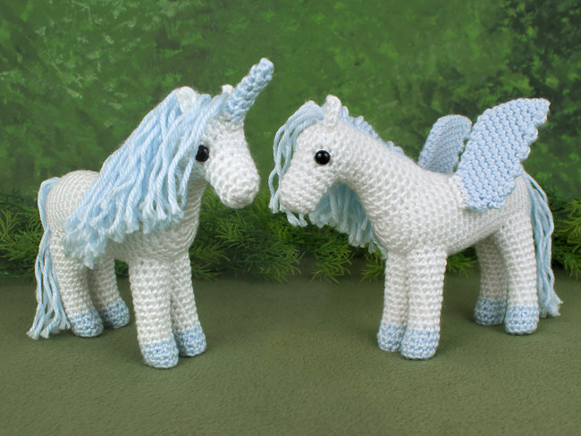 Unicorn And Pegasus EXPANSION PACK Crochet Pattern [EP60] USD Best Unicorn Crochet Pattern