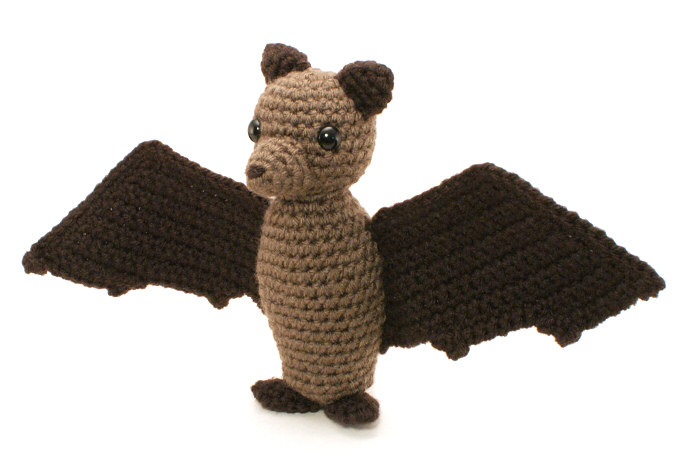 Fruit Bat (Flying Fox) amigurumi crochet pattern ...