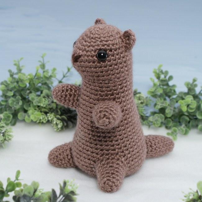 Free Crochet Patterns Groundhog : Groundhog (aka Woodchuck, Marmot) amigurumi crochet ...