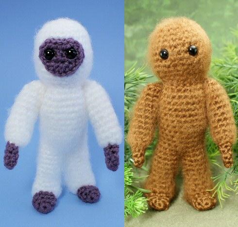 Amigurumi Bigfoot Bear : Yeti and Bigfoot - amigurumi crochet pattern : PlanetJune ...