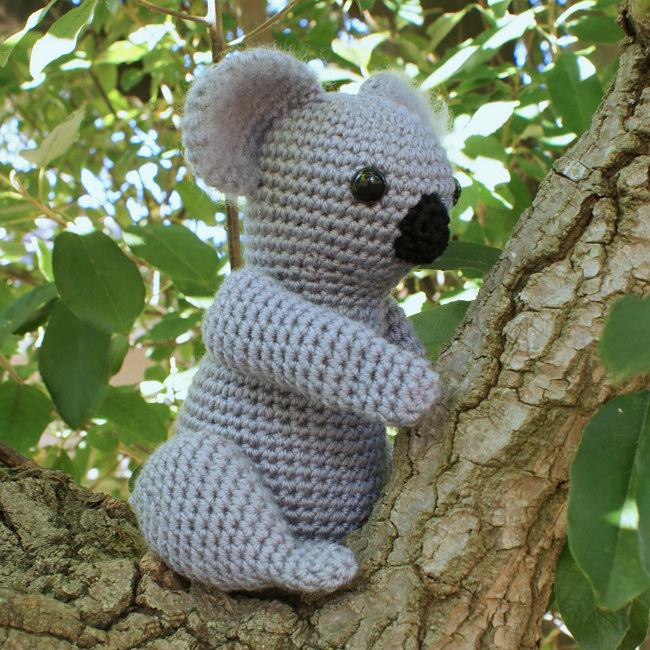 Crochet Lace Camisole Pattern : Koala amigurumi crochet pattern : PlanetJune Shop, cute ...