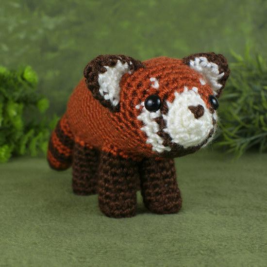 119 Crochet Pattern - Panda - Amigurumi Pdf file by Pertseva Cp | 550x550