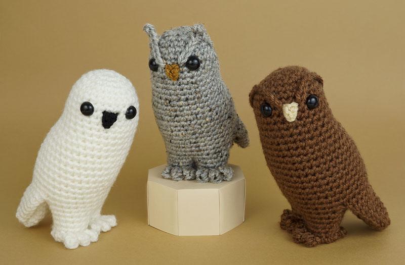 Sweet Owls Free Crochet Patterns | Owl crochet pattern free, Owl ... | 525x800