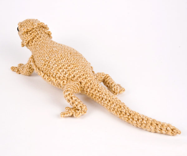 Bearded Dragon (lizard) amigurumi crochet pattern - Click Image to Close