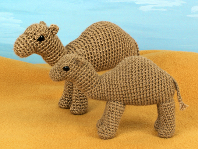 Camel Amigurumi Crochet Pattern Planetjune Shop Cute And