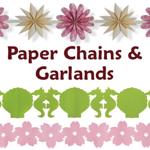 Paper Chains Garlands A Papercraft Ebook By June Gilbank