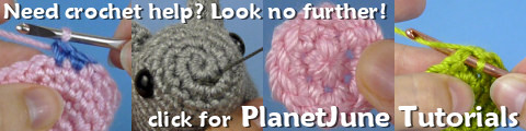 PlanetJune Crochet and Amigurumi Tutorials