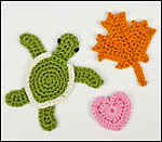 PlanetJune applique crochet patterns