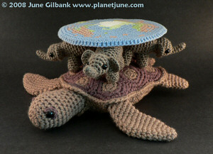 Amigurumi Turtle : Aquaami sea turtle amigurumi crochet pattern planetjune shop