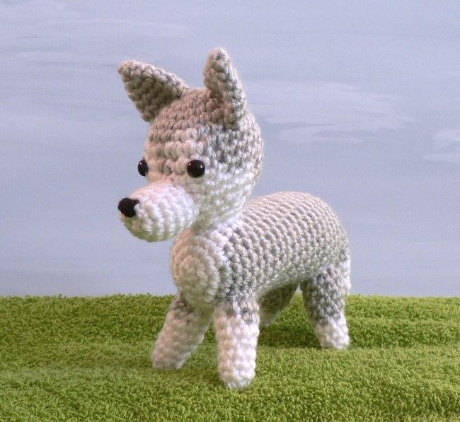 Amidogs Husky Amigurumi Crochet Pattern Planetjune Shop Cute And