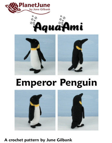 Emperor Penguin amigurumi crochet pattern - Click Image to Close