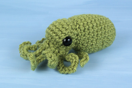 Baby Cephalopods 1: Octopus & Squid amigurumi crochet patterns - Click Image to Close