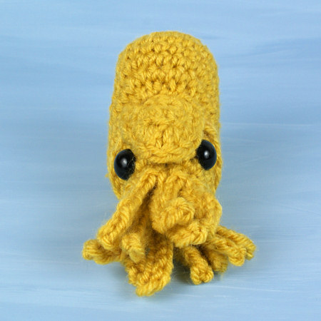 Baby Cephalopods 2: Cuttlefish & Nautilus crochet patterns - Click Image to Close