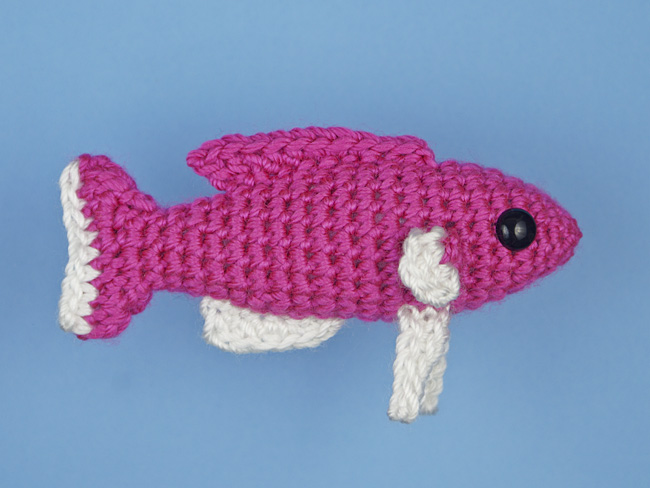 Amigurumi Fish free crochet pattern | Asmi Handmade | 488x650