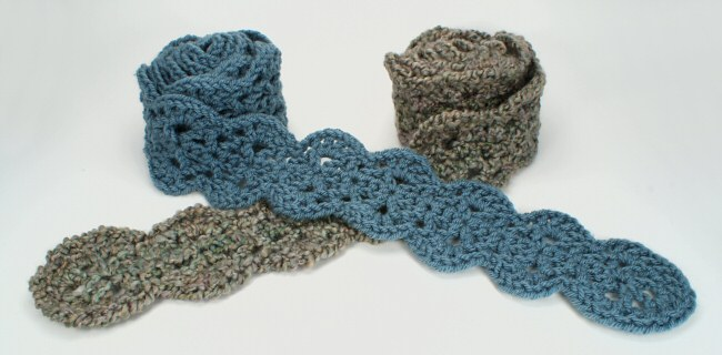 Scalloped Scarf Donationware Crochet Pattern Planetjune Shop Cute