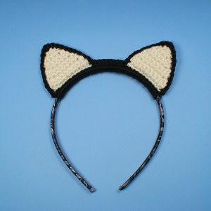 Crochet Cat Ears Pattern | Crochet unicorn, Crochet cat hat, Cat ... | 300x300