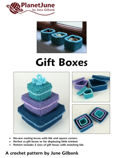 Gift Boxes crochet pattern - Click Image to Close