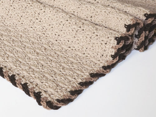 Twist-Trim Baby Blanket crochet pattern - Click Image to Close