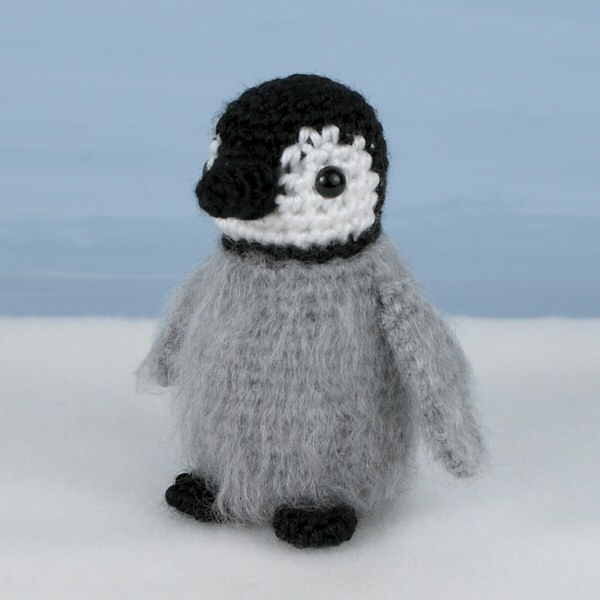 Emperor Penguin Family amigurumi crochet patterns (adult & baby) - Click Image to Close
