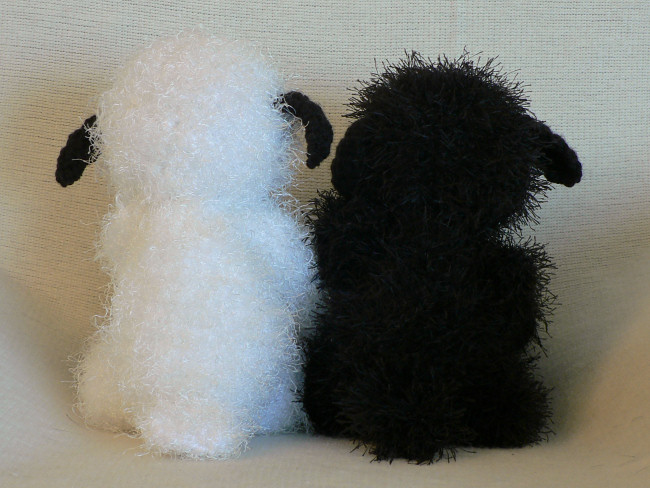 Fuzzy Lamb amigurumi crochet pattern - Click Image to Close