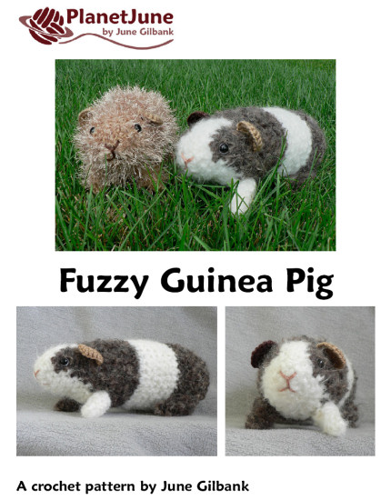 Fuzzy Guinea Pig amigurumi crochet pattern - Click Image to Close