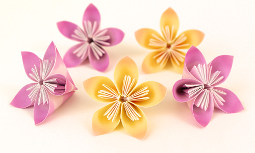 Kusudama Flowers DONATIONWARE Paper Craft Tutorial PlanetJune Shop