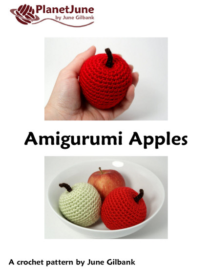 Amigurumi Apples DONATIONWARE crochet pattern - Click Image to Close