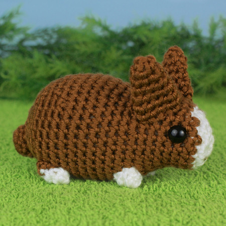 Baby Bunnies 2 - three EXPANSION PACK amigurumi crochet patterns - Click Image to Close