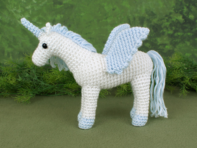Unicorn and Pegasus EXPANSION PACK crochet pattern - Click Image to Close