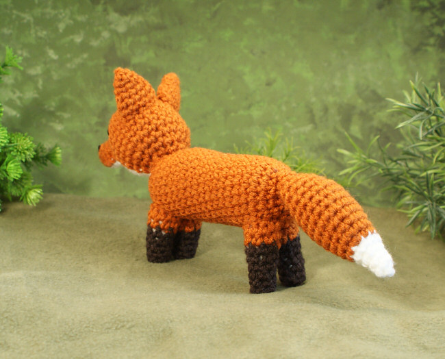 Red Fox amigurumi crochet pattern - Click Image to Close