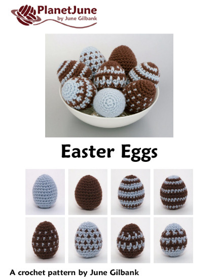 Easter Eggs amigurumi crochet pattern - Click Image to Close