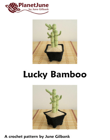 Lucky Bamboo crochet pattern - Click Image to Close